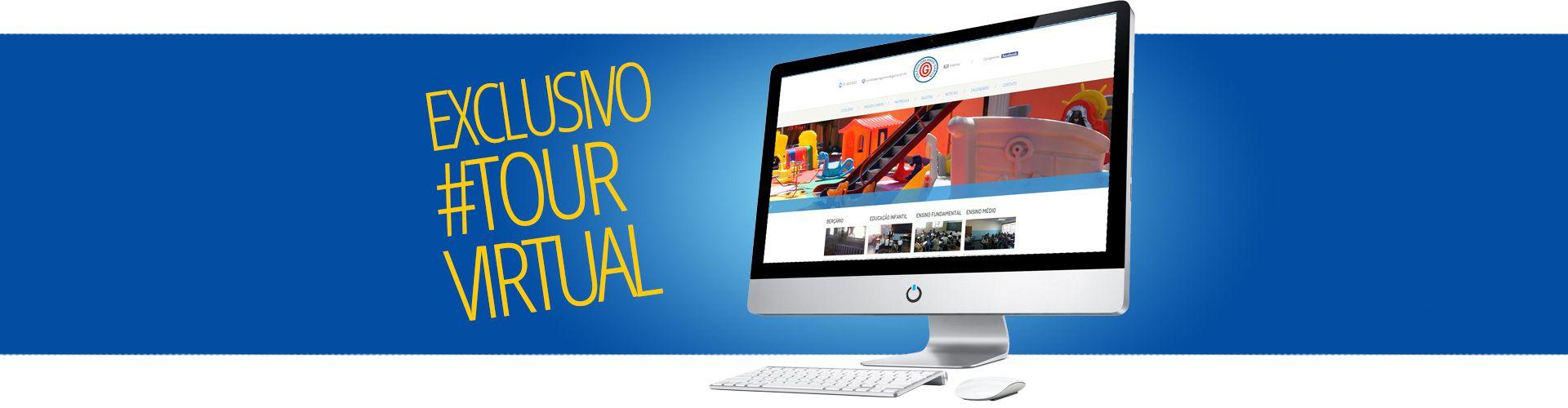 Tour Virtual - Conheça nossa escola agora!